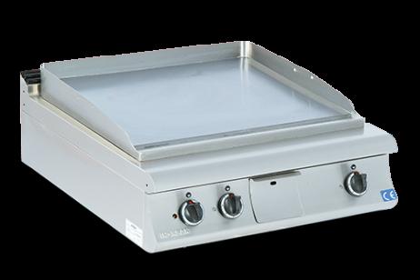 Grill (1/2 Glat + 1/2 Rillet overflade) - 800x730x230