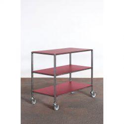 Rullebord Zoni 3 hylder - 300 kg.